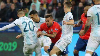 argentina se prueba con chile en el primer amistoso post copa america