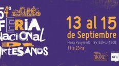 Feria de artesanos en la Plaza Pueyrredón