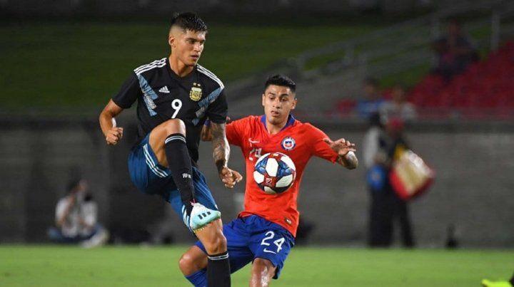 Argentina igualó 0-0 con Chile en Estados Unidos
