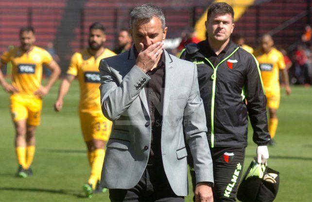 Lavallén juega al misterio en Colón y no da pistas del equipo