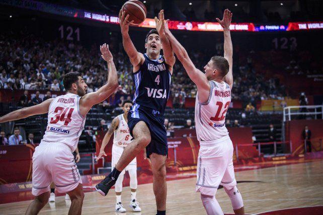 Argentina aplastó a Polonia y chocará ante Serbia en cuartos de final