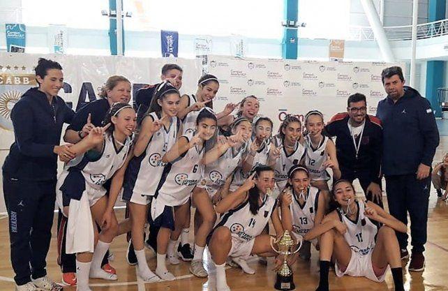 De punta a punta, Santa Fe se llevó el Argentino Femenino U13