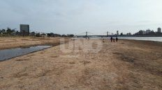 una laguna setubal desconocida: mucha playa y poca agua