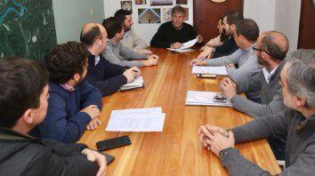 El intendente electo presidió una reunión con referentes del Frente Progresista de la ciudad de Santa Fe.