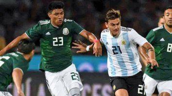 argentina cierra la fecha fifa ante mexico en san antonio