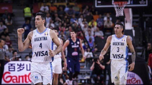 Histórico: Argentina le ganó a Serbia y está entre los cuatro mejores