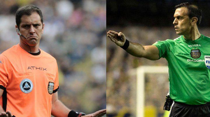 Dos árbitros con trayectoria para Unión y Colón en la 6ª fecha de la Superliga