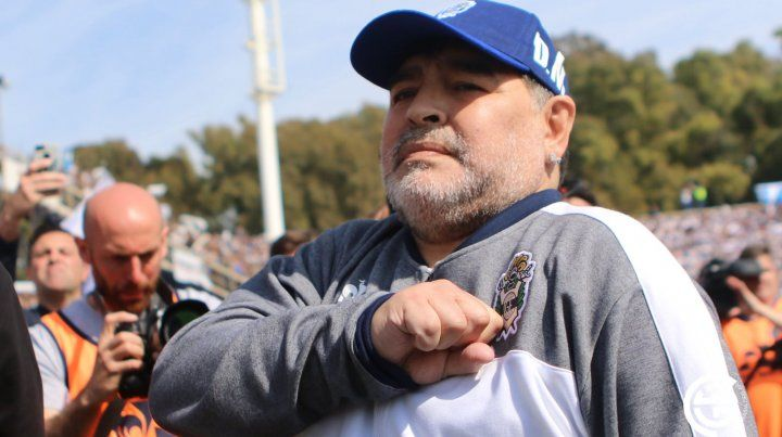 Maradona saludó al nuevo presidente en sus redes sociales