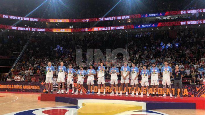 La Generación Dorada le rindió tributo al subcampeón mundial