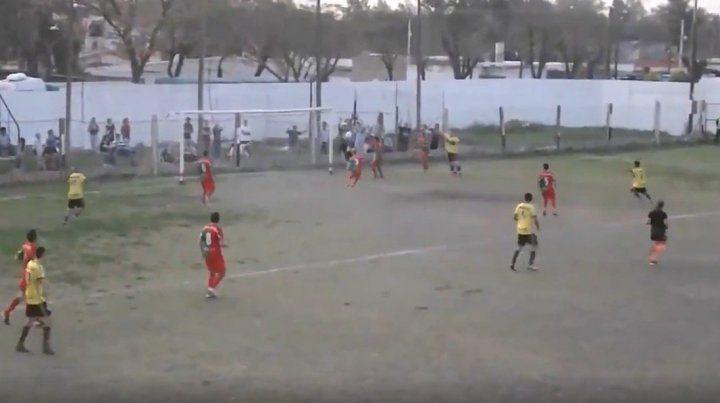 El gol fantasma en la Liga Reconquistense del que todos hablan