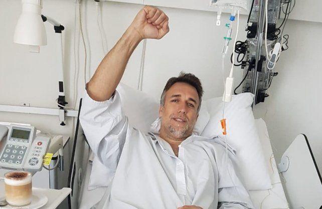 Batistuta se operó en Suiza por sus lesiones crónicas de tobillo