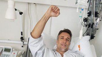 El Bati se recupera en Suiza luego de ser operado en su tobillo