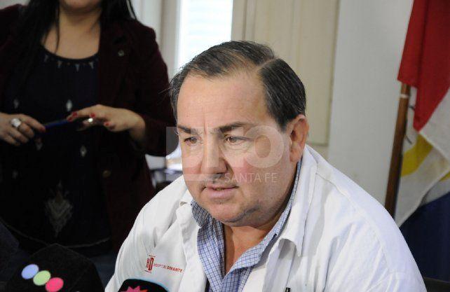 Juan Pablo Poletti, director del efector de salud. Imagen de archivo.