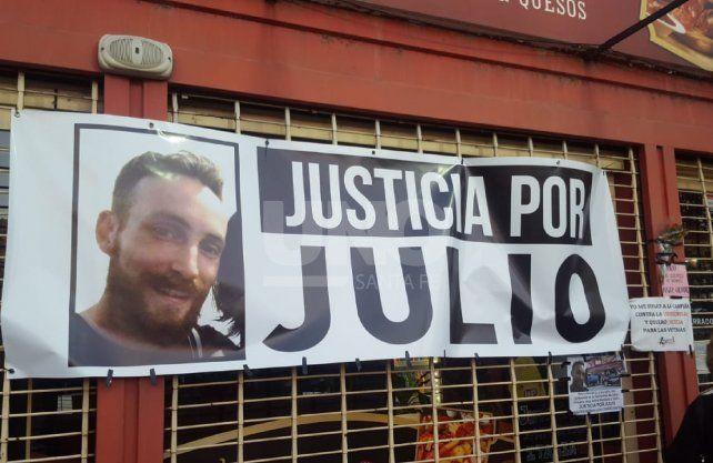 El frente del negocio donde mataron a Julio Cabal (h).