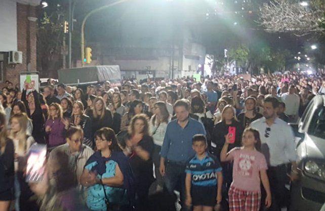 Miles de personas se manifestaron al grito de justicia por Julio Cabal