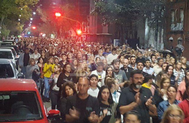 Multitudinaria marcha por Julio Cabal (h)