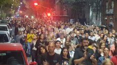 Multitudinaria marcha por Julio Cabal (h)