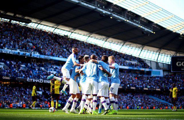 Aplastante victoria del City sobre Watford
