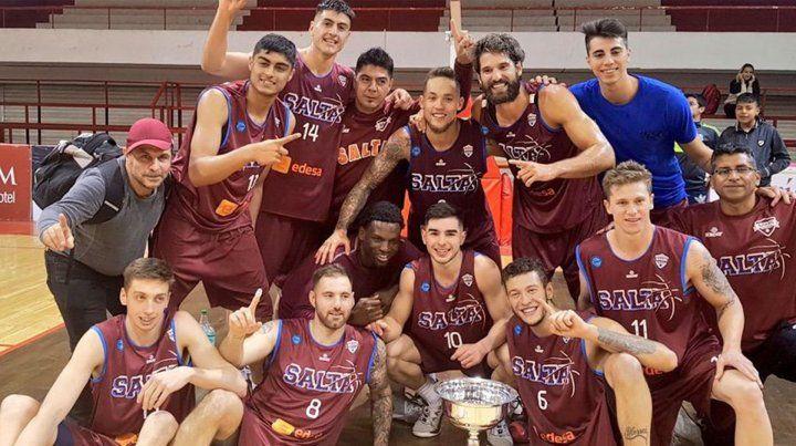 Salta Basket hizo historia y jugará la Liga Sudamericana