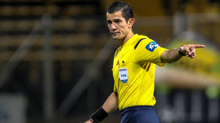 El colombiano Andrés Rojas controlará la revancha