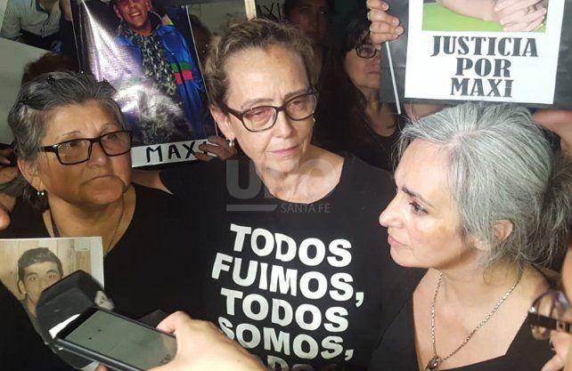 Las mamás de Julio Cabal y Maximiliano Olmos