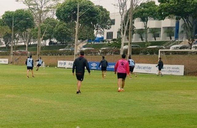 Colón trabajó en el predio de Cruzeiro de cara al duelo ante Mineiro