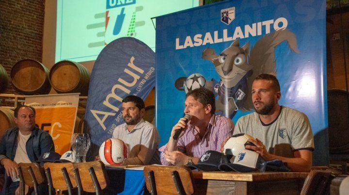 Se presentó oficialmente el Lasallanito 2019