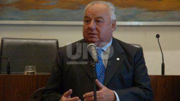 El ministro de la Corte Suprema de Justicia de la Provincia, Rafael Gutiérrez.