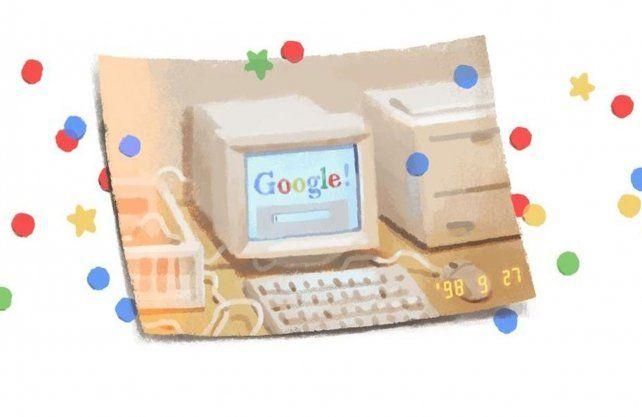 Google festeja un nuevo aniversario.