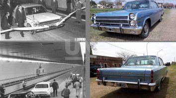 Mismo auto, casi medio siglo después