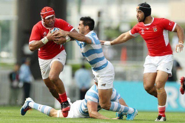 Los Pumas superaron a Tonga en Osaka