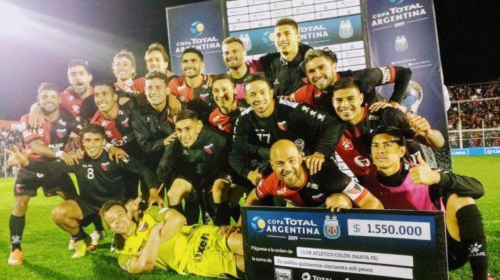 Colón tiene día y hora para jugar ante Estudiantes de Buenos Aires