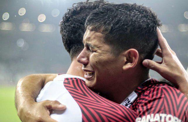 Alex Vigo viene de jugar la Sudamericana en alto nivel en Colón y despertó el interés de River.