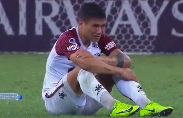 El gesto de Alex Vigo que recorre América tras el arribo de Colón a la final de la Sudamericana