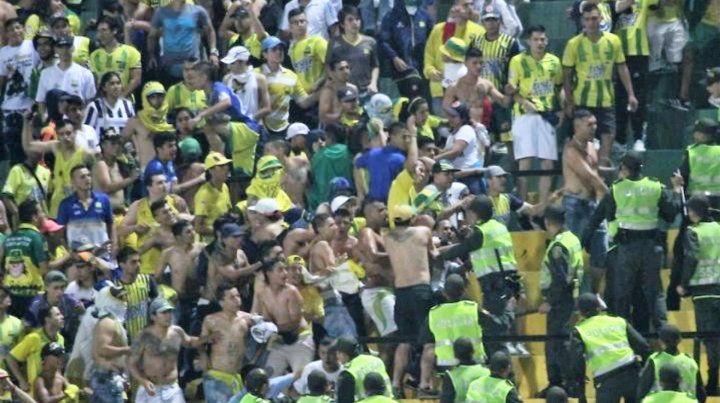La violencia se cobró una vida en el fútbol colombiano