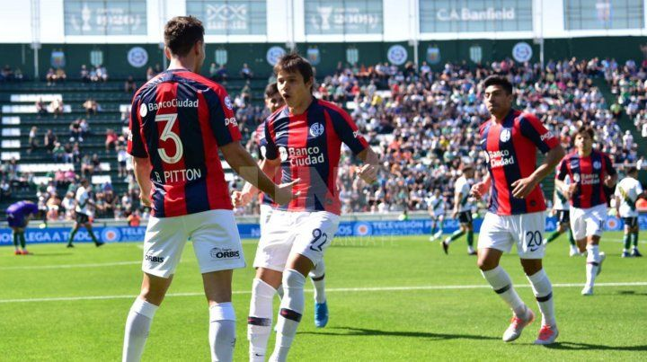 Con otro golazo de Bruno Pittón, San Lorenzo volvió a festejar