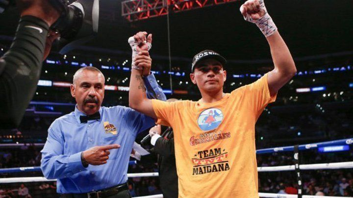 Gran regreso de TNT Maidana en Estados Unidos