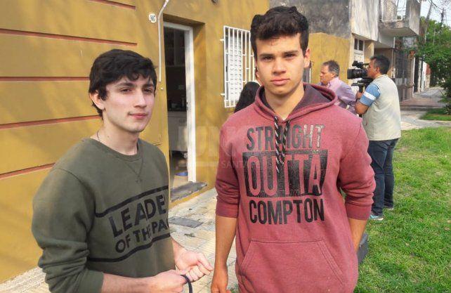 Los jóvenes estudiantes de Reconquista que sufrieron una entradera en barrio 7 jefes.