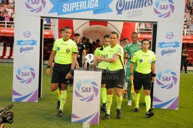 Patricio Loustau, el árbitro del Clásico Santafesino