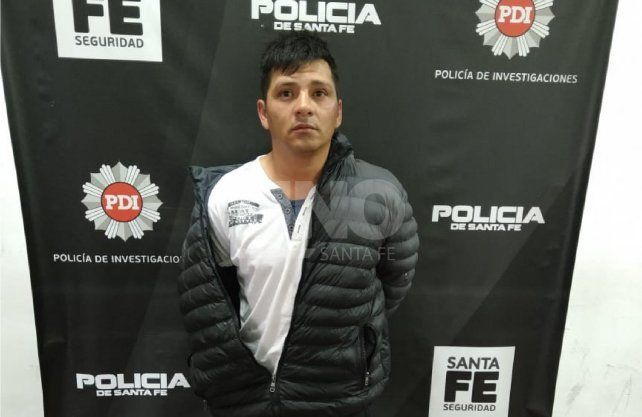 Peralta fue recapturado en la ciudad de Rosario.