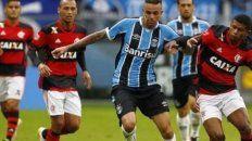 gremio y flamengo abren la otra semifinal de la copa libertadores