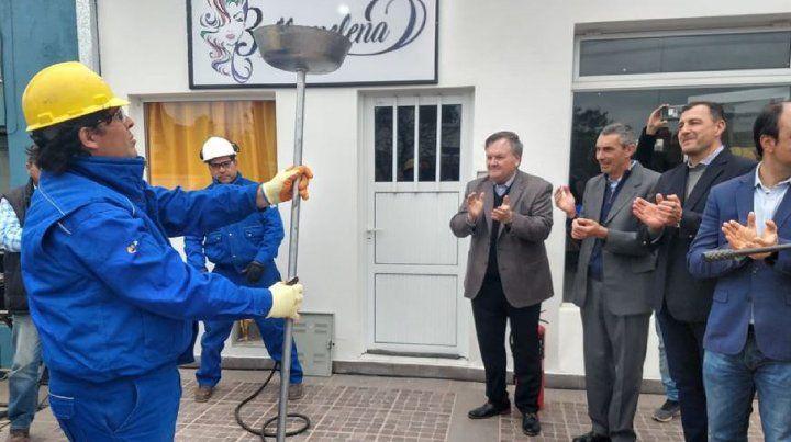 El gas natural llegó a la ciudad de San Cristóbal