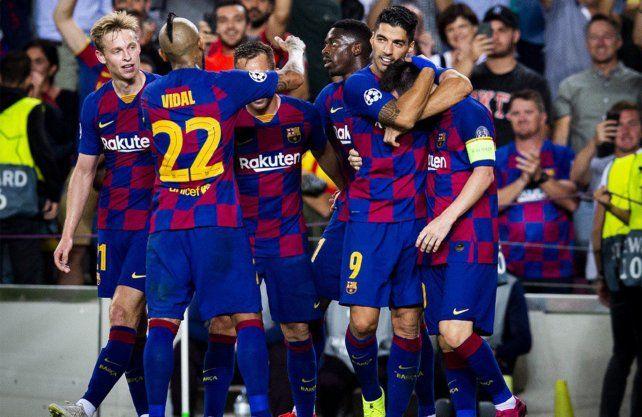 Barcelona se lo dio vuelta a Inter de la mano de Messi