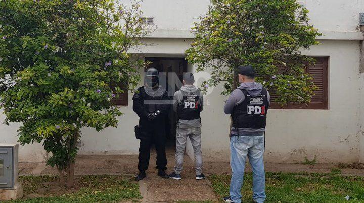 Detuvieron a un vendedor de drogas en Esperanza