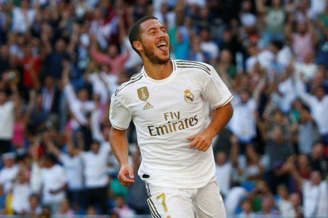 Real Madrid sufrió pero quedó solo en la punta de la Liga de España