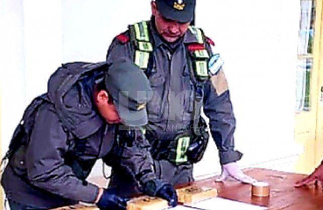 Cayó preso con seis kilos y medio de marihuana en un colectivo