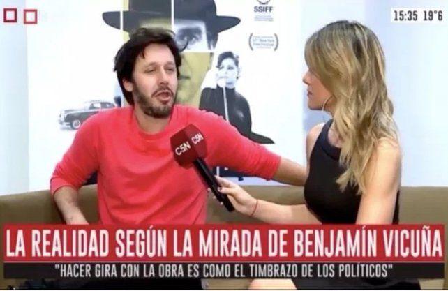 Benjamin Vicuña.