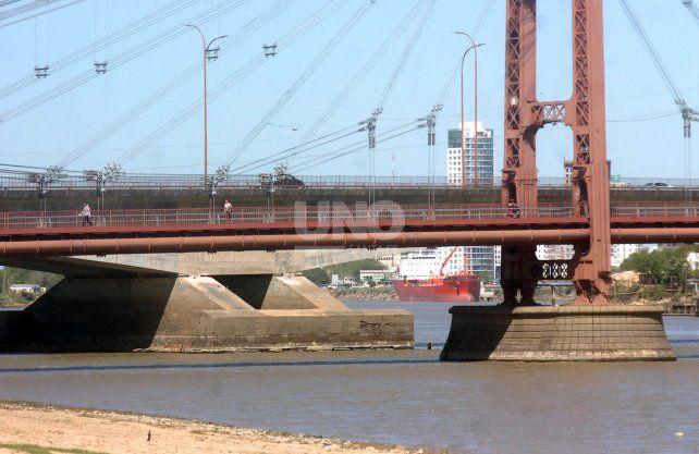 Este lunes el río Paraná alcanzó el mínimo más bajo desde 2009.