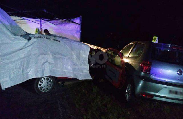 El accidente ocurrió en el acceso sur de Laguna Paiva.
