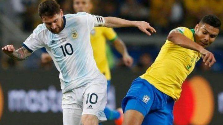 Argentina podría enfrentar a Brasil en la fecha FIFA de noviembre